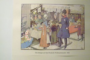 luisenverehrung, museum im böhmischen dorf, neukölln, königin luise rixdorf, rixdorfer weihnachtsmarkt