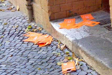 bsr berliner stadtreinigung, orange tonne, neukölln, berlin