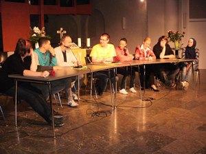 podiumsdiskussion jugend in neukölln,genezareth-kirche,neukölln