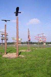 schülerkunstaktion tempelhofer kunstflugfeld, tempelhofer feld