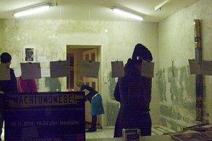 ikz institut für kunstzerstörung berlin,neukölln,nachtundnebel 2010