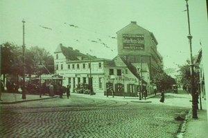 """Hermannplatz um 1888 (aus: """"Die Karl-Marx-Straße - Facetten eines Lebens- und Arbeitsraums"""")"""