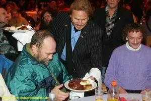 obdachlosenfest, frank zander, estrel hotel berlin
