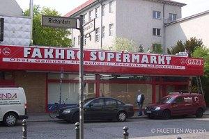 fakhro supermarkt, neukölln, platz der freundschaft, da-wo-aldi-ist-platz