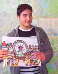 isa genc, albert-schweitzer-schule, gewinner plakatwettbewerb, maientage 2011, neukölln
