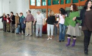 tanz rund um den globus, 5 jahre interkulturelles zentrum genezareth, neukölln