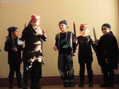 eröffnung 13. rathausrallye neukölln, neuköllner kinderbüro, theatergruppe projektwerkstatt gropiusstadt