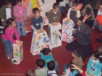 mitmachausstellung kunst + sprache, kinderkünstezentrum berlin-neukölln, kita tausendfüßler