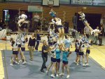 sportlergala neuköllner meisterehrung 2011, bezirkssporthalle werner-seelenbinder-sportpark neukölln, cheerleader berlin thunderbirds