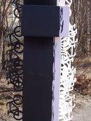 koptische skulptur von hanan el-sheikh, tempelhofer feld/eingang oderstraße, neukölln, itb 2012