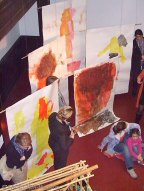 mitmachausstellung kunst + sprache, kinderkünstezentrum berlin-neukölln, kita rixdorfer rüpel