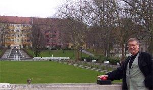 wasser marsch, auftakt brunnensaison 2012, stadtrat thomas blesing, körnerpark neukölln