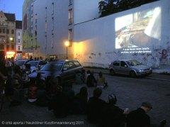 foto: città aperta Neuköllner Kurzfilmwanderung 2011