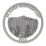 bezirkstaler 50 jahre gropiusstadt neukölln, münze berlin