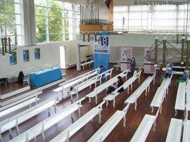 pressekonferenz 48 stunden neukölln, betsaal evang. brüdergemeine berlin