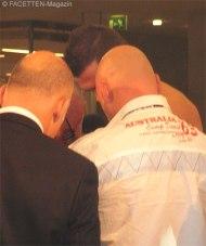 ibo champions night im huxley's, artur hermann, offizielles wiegen in den neukölln arcaden