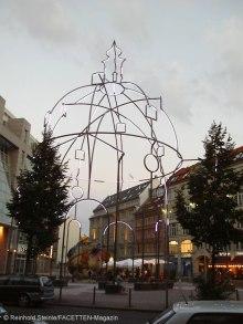 """wandering church""-installation, bethlehemkirchplatz berlin-mitte, foto: reinhold steinle"