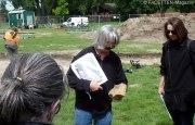 archäologische ausgrabungen tempelhofer feld berlin, zwangsarbeiterlager, garnisonsfriedhof