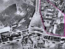 (lageplan) archäologische ausgrabungen tempelhofer feld berlin, zwangsarbeiterlager, garnisonsfriedhof