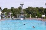 columbiabad sommerbad neukölln, sportbecken, sprungturm