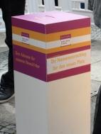 "spatenstich, baumaßnahme ""umgestaltung platz der stadt hof"", berlin-neukölln, namenswettbewerb"
