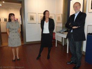 "schloss britz neukölln, ausstellung ""marc chagall - originalgraphiken aus 7 jahrzehnten"", aneta brinker, sonja kramer, berni fetzer"
