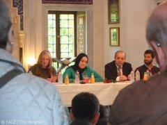 tag der offenen moschee 2012, sehitlik-moschee neukölln, elisabeth kruse, levi salomon, ron weber