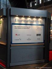 literaturbahnhof, buchmesse frankfurt/main, frankfurt hbf