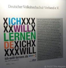 """tagung """"weiterbildung im dialog"""", un-weltdekade zur alphabetisierung, estrel berlin-neukölln"""