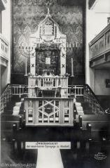ehemalige synagoge isarstraße 8 neukölln, foto: museum neukölln