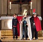 philipp-melanchthon-kirche neukölln, martinsspiel der st. eduard-gemeinde neukölln