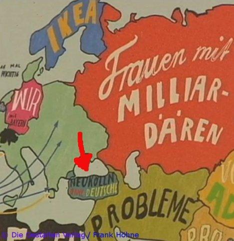 """wimmelbuch """"deutschland verstehen"""", infografik """"die welt aus deutscher sicht"""" (frank höhne)"""