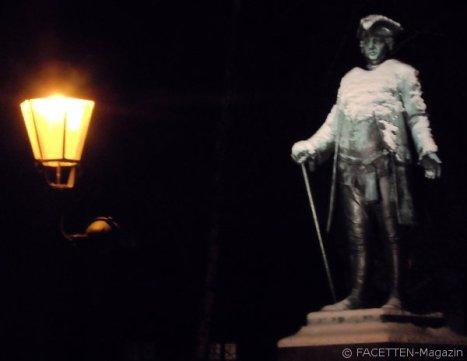Friedrich Wilhelm I.-Statue_Böhmisches Dorf_Neukölln