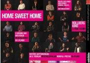 home sweet home-plakat