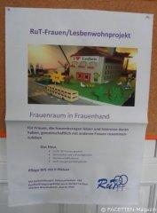 Plakat RuT-Wohnprojekt