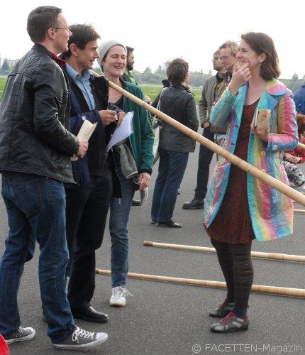 Musikalischer Teppich fürs Tempelhofer Feld  FACETTEN