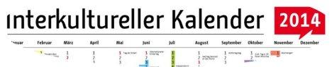 interkultureller kalender 2014
