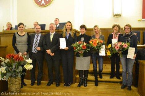 Siegerehrung_Neuköllner Ausbildungspreis 2013