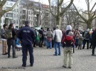 demo am kiehlsteg_neukölln