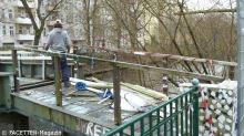 Abrissarbeiten Kiehlsteg 19-3-2014_Neuköllner Schiffahrtskanal_Berlin-Neukoelln