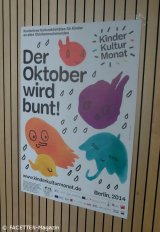 plakat 3. kinderkulturmonat berlin