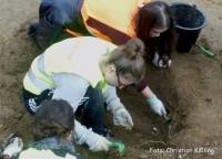 grabungen zwangsarbeiterlager rudow_schüler-ag clay-schule neukölln