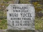 grabstein nuri yücel_historischer türkischer friedhof neukölln