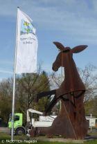 Goldener Esel_Britzer Garten Berlin-Neukölln