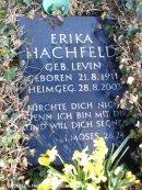 grab erika hachfeld_böhmischer gottesacker neukölln