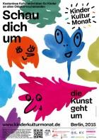 Plakat KinderKulturMonat Berlin 2015