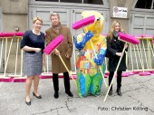 giffey_hoehn_sauberkeitskampagne schoen wie wir_neukoelln