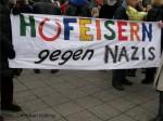 hufeisern gegen rechts_antirassismus-kundgebung rudow-neukoelln