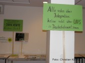 infotisch_dialogforum gewerkschaftsgruen berlin-brandenburg