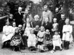 Körner im Kreis der Familie_Archiv Museum Neukoelln